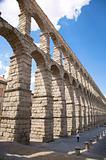 segovia aqueduct detail