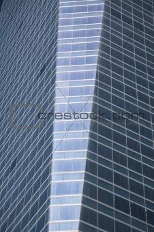 tower with rectangular windows