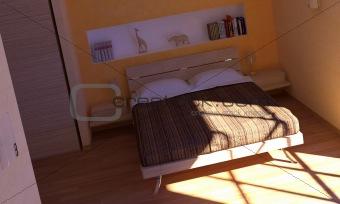 bedroom morning light