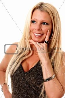 Mature happy woman