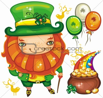 St. Patrick's Day  leprechaun series 2