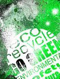 Grunge Environmental Green Background