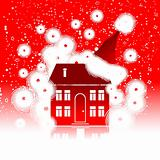 Christmas holiday, winter house