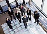 Business People in Office Lobby