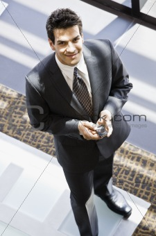 Man in Business Suit