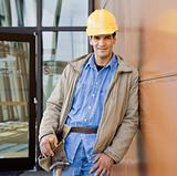 Young Male Construction Worker