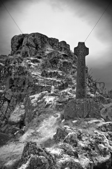 Celtic graveyard