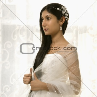 Bridal portrait.