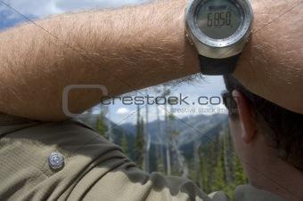Altitude 6,850 ft.
