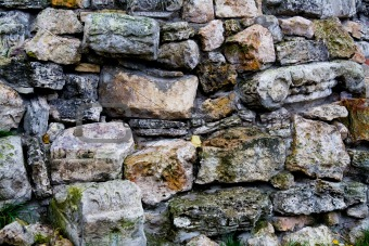 Aged Stone Wall