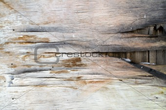 Old Plywood Background