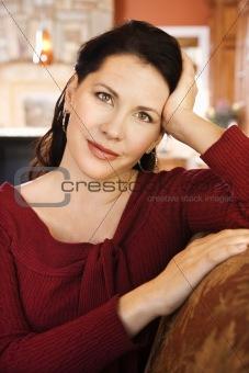 Portrait of mid-adult female.