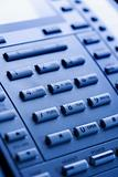 Close-up of telephone keypad.