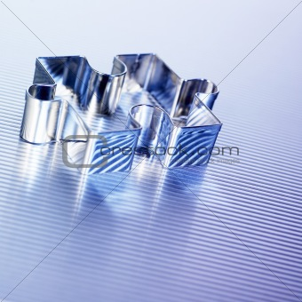 A silver puzzle