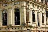 Demolished old building