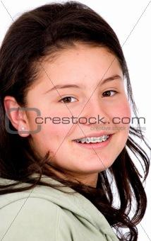beautiful female teen portrait