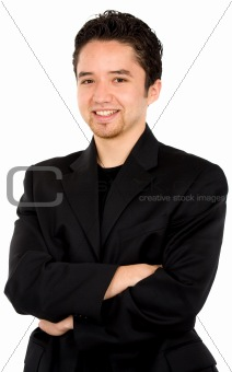smart young man portrait