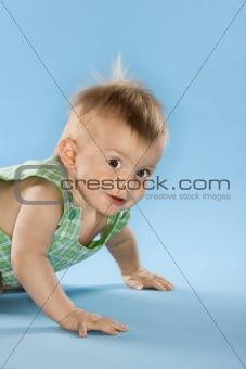 Portrait of baby boy.