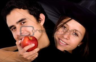 apple of temptation - couple