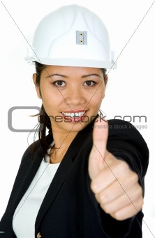asian female architect