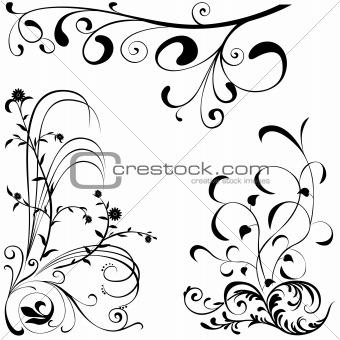 Floral elements A