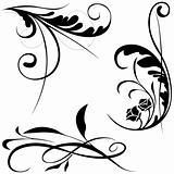 Floral elements B