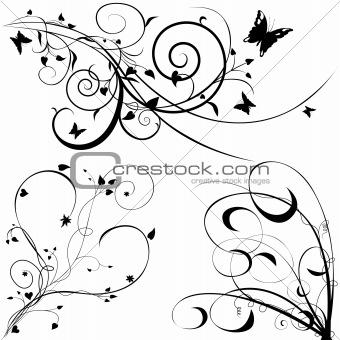 Floral elements C