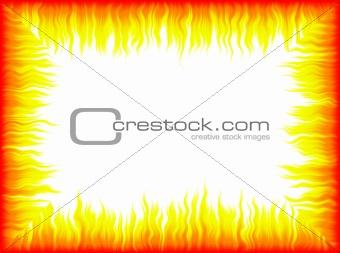 Flames frame