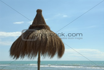 beach in ostia