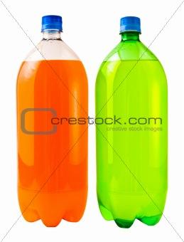 Orange and Lemon Lime Soda