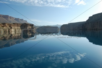 Band i Amir lake, Bamiyan, Afghanistan