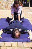 Lower body Thai massage