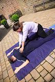 Shoulder blade massage