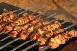 Shish a grill