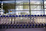 Luggage carts airport