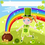 st.patricks day card