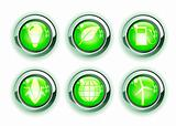 green ecologe icons
