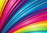 rainbow fan background