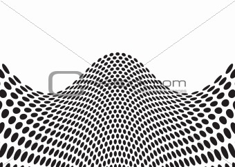 wave bulge black
