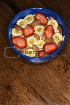 Breakfast Bowl on Table
