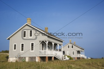 Two Beachfront Homes