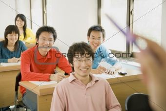 Asian Students in Class