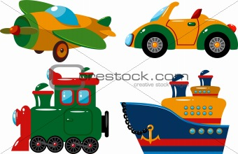 Set of vehicles