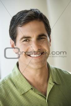 Portrait of Adult Man