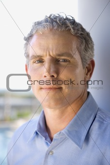Portrait of Middle Aged Man