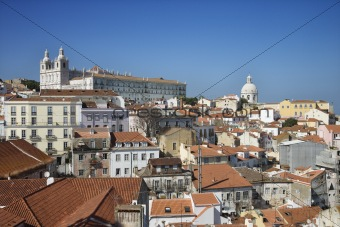 City Skyline of Lisbon