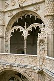 Arched Ornate Relief at the Monastery of Jeronimos