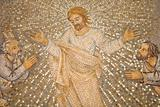 Mosaic of Christ and Disciples