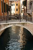 Canal and Bridge in Venice