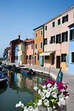 Buildings and Boats on Venice Canal